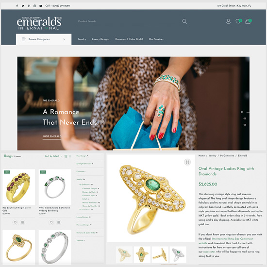 photo of a web design example by stephen i studios