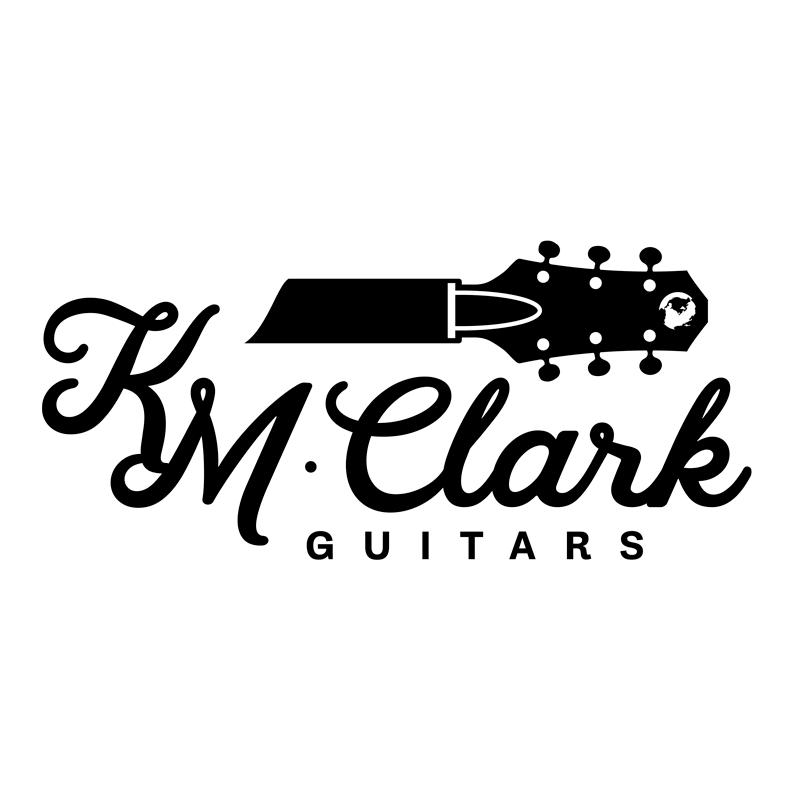 km clark guitars logo