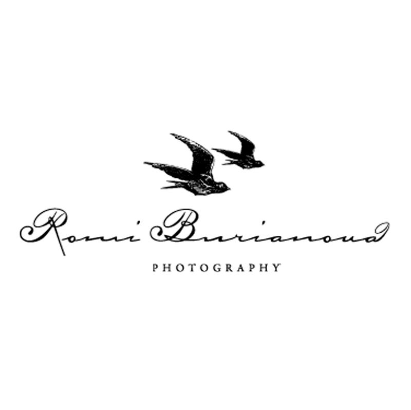 romi burianova photography logo