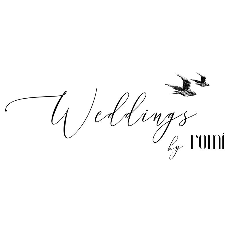weddings by romi logo